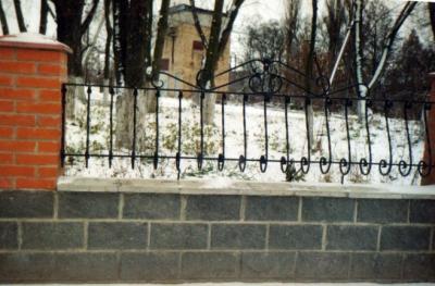 Кованые заборы киев