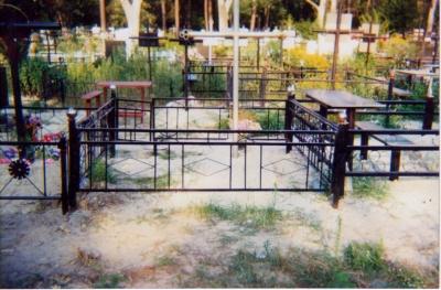 Ограды ритуальные
