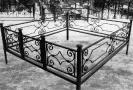 Ограды на кладбище Киев